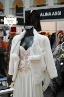Свадебная шубка из меха норки от бренда прокат фото