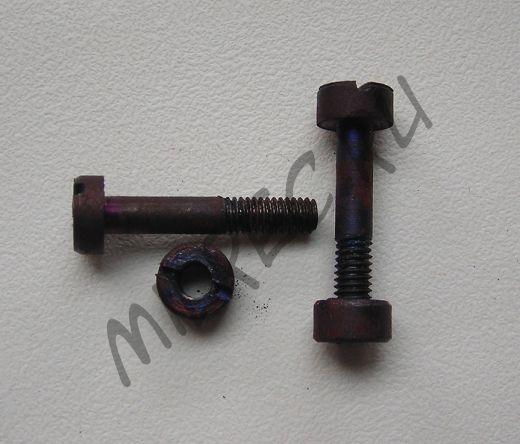Комплект винтов крепления накладок на штык Маузер 98к
