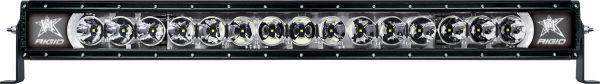 """Однорядная светодиодная балка с белой подсветкой Rigid Industries Radiance 30"""" (15 диодов)"""