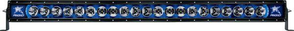 """Однорядная светодиодная балка с синей подсветкой Rigid Industries Radiance 40"""" (21 диод)"""