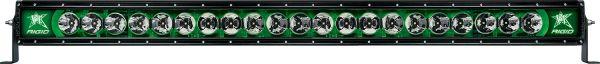 """Однорядная светодиодная балка с зеленой подсветкой Rigid Indstries Radiance 40"""" (21 диод)"""