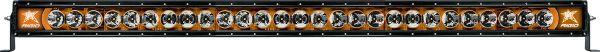 """Однорядная светодиодная балка с янтарной подсветкой Rigid Industries Radiance 50"""" (27 диодов)"""