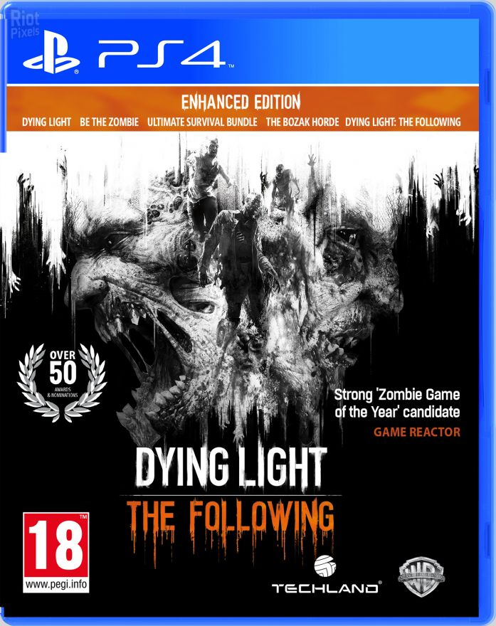 Игра Dying Light: The Following Enhanced Edition (Русская версия)(PS4)
