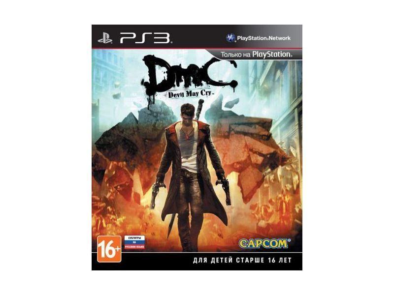 Игра DMC Devil May Cry (PS3, русские субтитры)