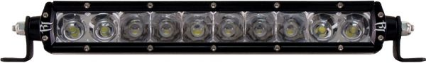 """Однорядная светодиодная балка комбинированного свечения (янтарный цвет) Rigid Industries 10"""" SR-Серия (10 диодов)"""