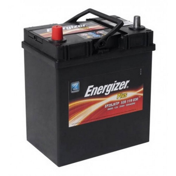 Автомобильный аккумулятор АКБ Energizer (Энерджайзер) PLUS EP35JXTP 535 119 030 35Ач п.п.
