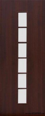 Межкомнатная дверь 4С2 (Венге)