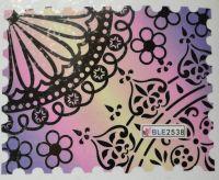 Водная наклейка для дизайна ногтей BLE 2538