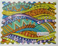 Водная наклейка для дизайна ногтей BLE 2546