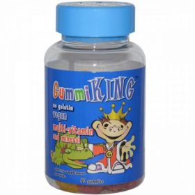 Gummi King Multi-Vitamin & Mineral For Kids (60 капс.)