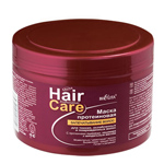 МАСКА ПРОТЕИНОВАЯ Запечатывание волос для тонких, ослабленных и поврежденных волос с протеинами пшеницы, кашемира и миндальным маслом 500 мл