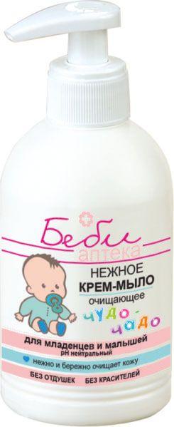 Нежное крем-мыло для младенцев и детей