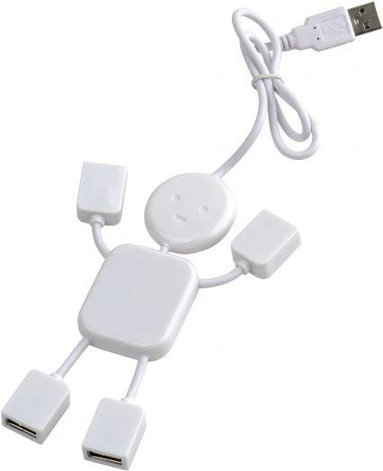 """Концентратор USB (HUB)  на 4 гнезда """"Человек"""""""