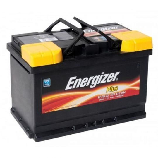 Автомобильный аккумулятор АКБ Energizer (Энерджайзер) PLUS EP70L3X 570 410 064 70Ач п.п.
