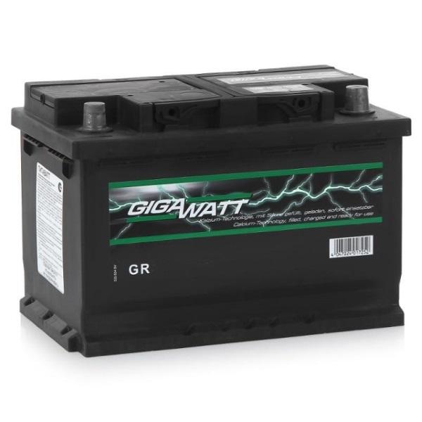 Автомобильный аккумулятор АКБ GigaWatt (Гигават) G70L 570 410 064 70Ач п.п.