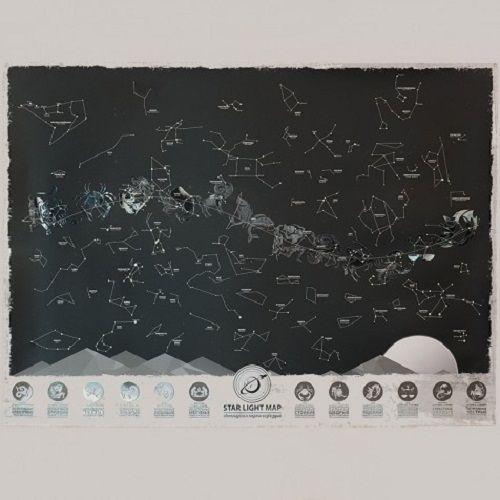 Светящаяся карта созвездий