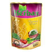 Herbax Курочка в соусе с морской капустой (100 г)