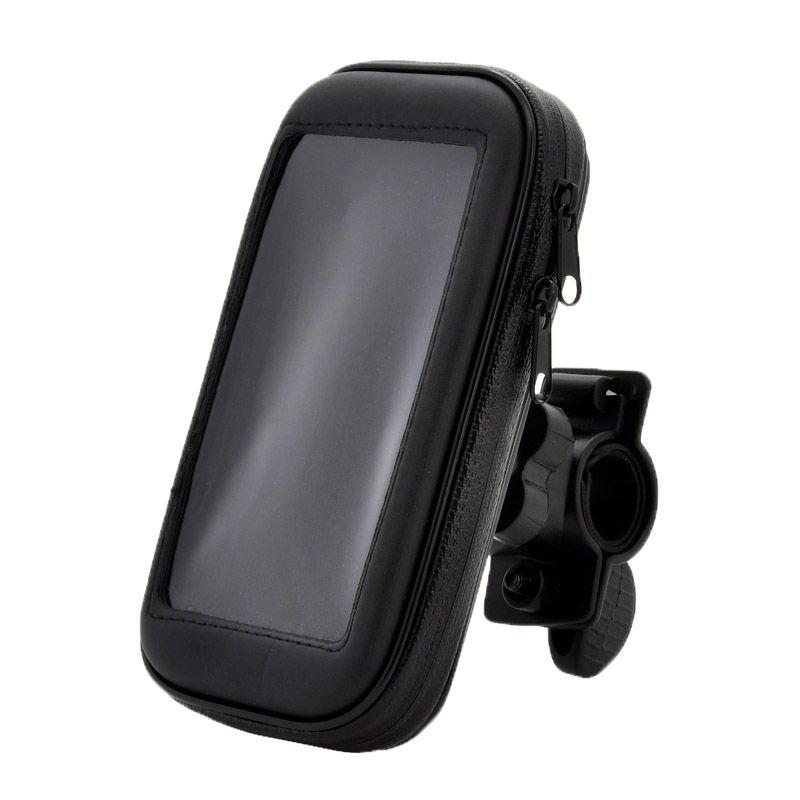 Держатель на руль велосипеда/мотоцикла с защитным чехлом для смартфона