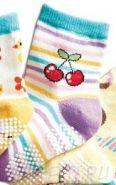Носочки вишенки (с тормозками) 12 см