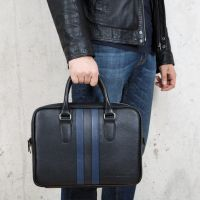 MASSIMO LINEA BLU кожаная деловая сумка GianfrancoBonaventura