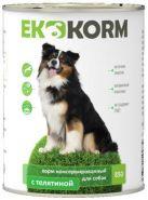 Еkkorm Для собак С телятиной (850 г)