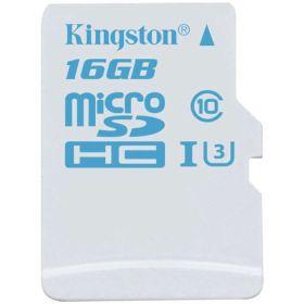Карта памяти Kingston 16Gb MicroSDHC 4K UHS-I до 90Mb/s class 10