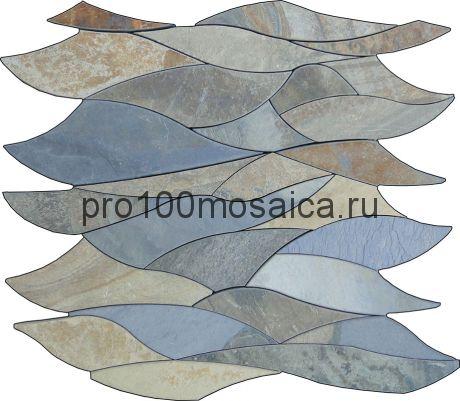 PCS-1 Мозаика части разных размеров серия PICASSO, размер, мм: 305*305*10 (Skalini)