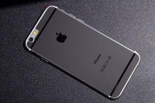 Защитное матовое стекло Black iPhone 6 , 6S (комплект на обе стороны)