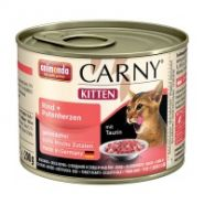 Animonda Carny Kitten Говядина и сердце индейки для котят (200 г)