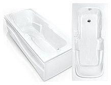 Гидромассажная акриловая ванна Bach Эллина 170х73 см, G
