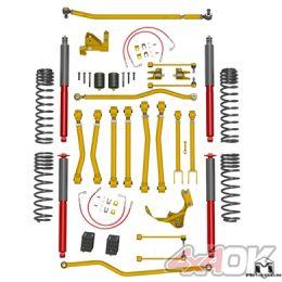 """JK Wrangler Game-Changer Suspension 4.5"""", Hi-Steer, RockSport Edition"""