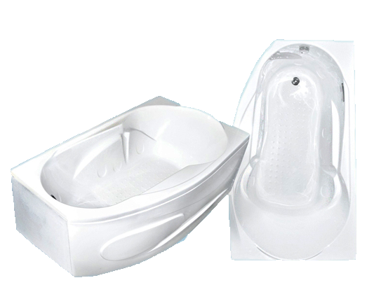 Акриловая ванна Bach Стар 168*100 см, без гидромассажа, угловая R/L