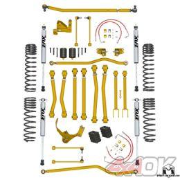 "JK Wrangler Game-Changer Suspension 4.5"", Hi-Steer, Fox Edition"