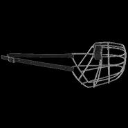 Намордник металлический №6 (дог, сенбернар, овчарка)