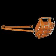 Намордник металл/кожа №Р (ротвейлер)