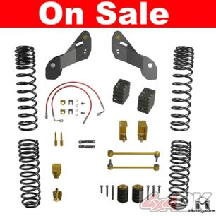 "JK Wrangler Overland ""Touring"" Lift Kit, 2.5"""