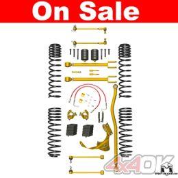"JK Wrangler True Dual-Rate Lift Kit, 2.5""/3.5"""