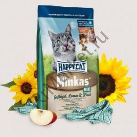 Сухой корм для кошек Happy Cat Adult Minkas Mix Птица/Ягненок/Рыба