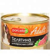 Porcelan 95% мяса Телятина для взрослых собак (325 г)