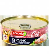 Porcelan 95% мяса Кролик для кошек (250 г)