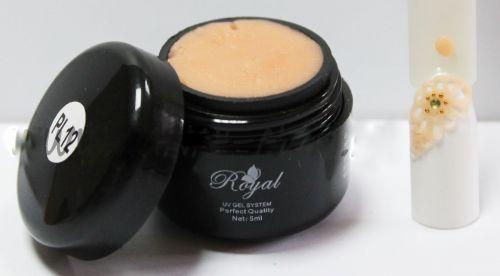 PL 12 Royal гель пластилин персиковый