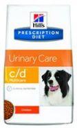 Hill's PD Canine c/d Urinary Care Диетический корм при мочекаменной болезни (12 кг)