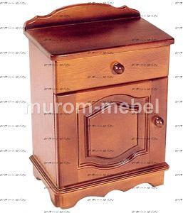 Тумба прикроватная ящик + дверка (40х30х60)