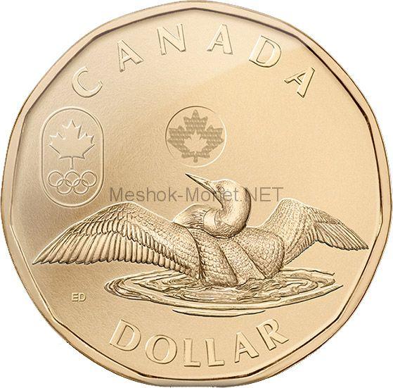 Канада 1 доллар 2014 Утка