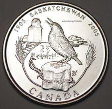 Канада 25 центов 2005 г Саскачеван