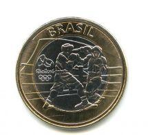 Бразилия 1 реал 2016 Олимпиада в Рио Бокс