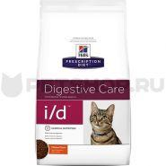 Hill's PD Feline i/d Digestive Care Диетический корм при заболеваниях ЖКТ (1,5 кг)
