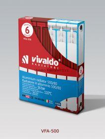 Алюминиевый радиатор Vivaldo VFA-SH-500 x1 секция
