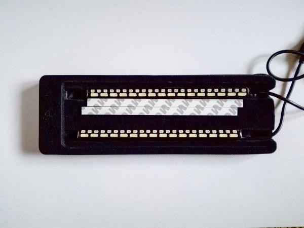 Светодиодные дневные ходовые огни алюминий с функцией поворотника комплект