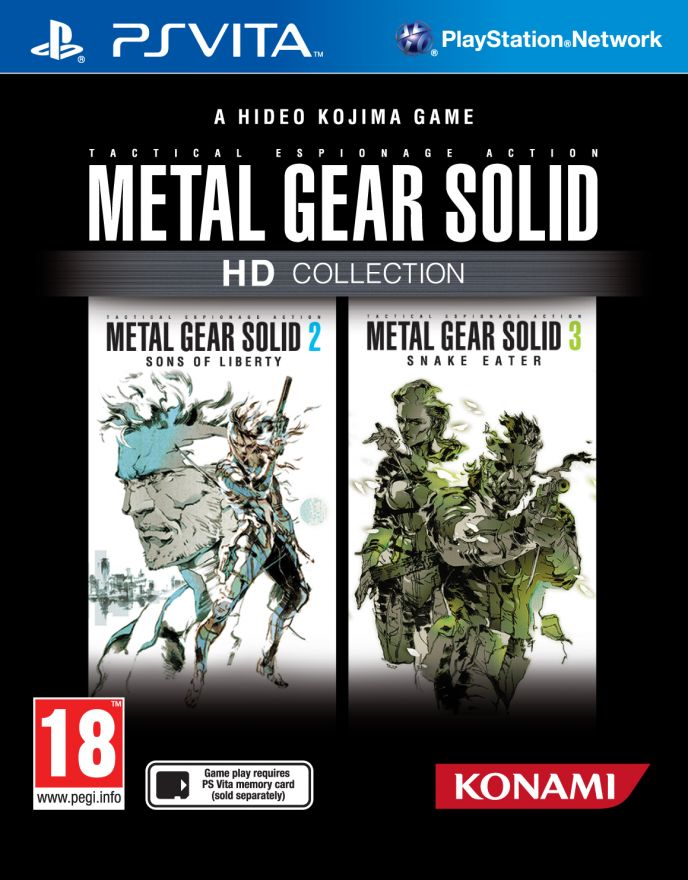 Игра Metal Gear Solid HD Collection (PS VITA)